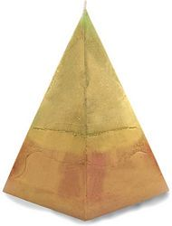 Large Pyramid Cash Candle - Large Pyramid Money Candle
